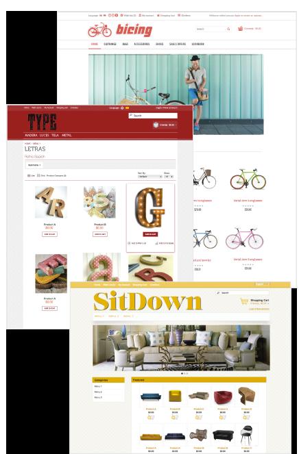 Openshopen virtual stores